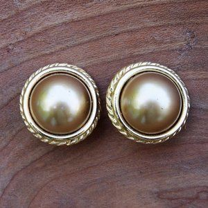 Feminine Carolee Faux Pearl Earrings
